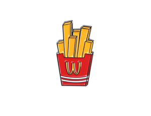 FRENCH FRIES-BADGE