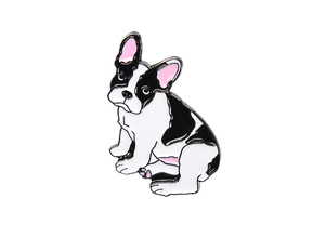 FRENCH BULLDOG-BADGE