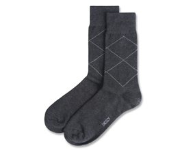 BASIC ARGYLE-GRAY